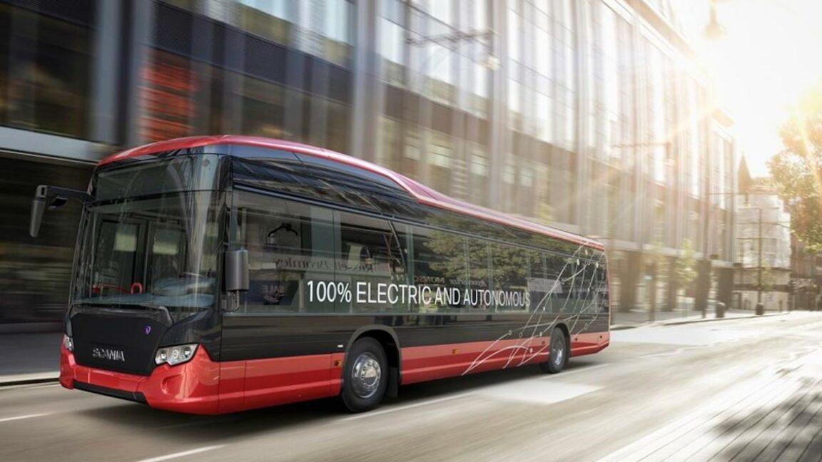 autobús de conducción autónoma tallin