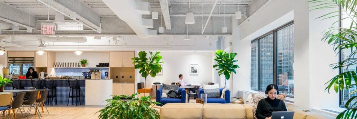 Con oficinas cerradas, WeWork y otros espacios de coworking aprovechan las oportunidades del mercado