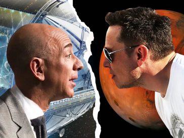 Cómo Jeff Bezos y Elon Musk están iniciando una nueva era de startups espaciales