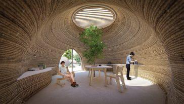 Tecla, la empresa italiana que produce casas ecosostenibles impresas en 3D