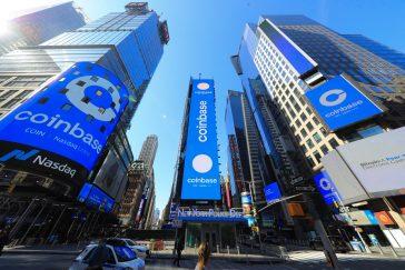 La bolsa de criptomonedas Coinbase debuta en Bolsa