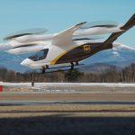 Helicopteros de entrega de UPS