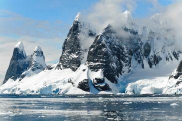 Plataforma de hielo antartica