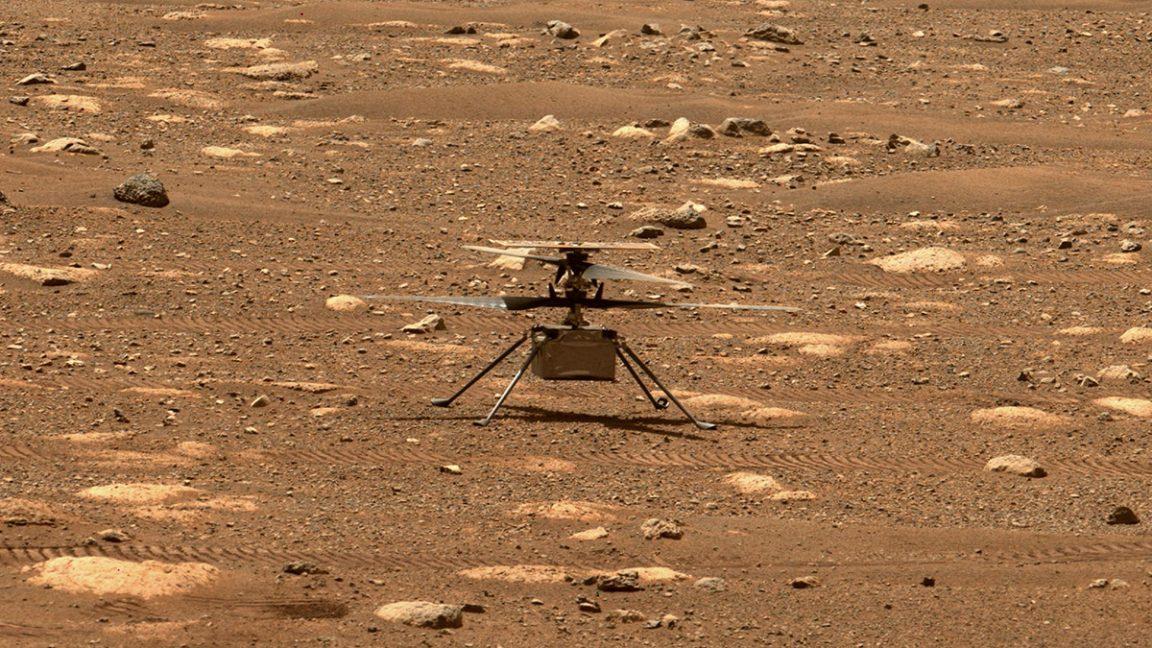 helicoptero en Marte 1