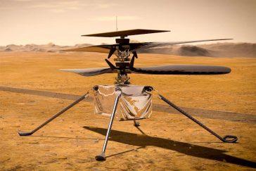 El helicóptero Ingenuity Mars va a Marte y lleva un pedazo del Wright Flyer