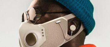 Will.i.am lanza Xupermask, la máscara para viajar con seguridad