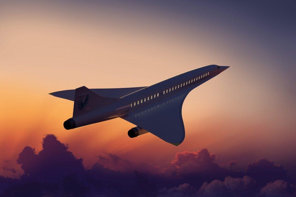 Boom Supersonic avion para reducir el tiempo de viaje en todo el mundo 2