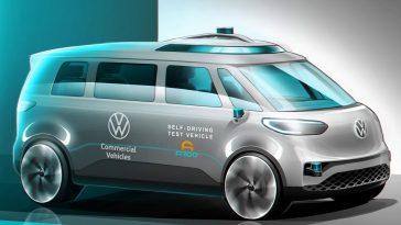 Partnership entre Volkswagen y Argo AI para realizar furgonetas eléctricas de conducción autónoma