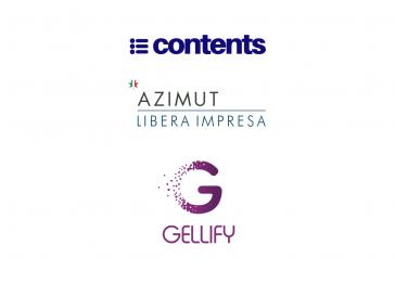 GELLIFY y Azimut Digitech Fund nuevos inversores de Contents
