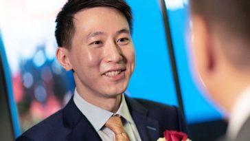 Shou Zi Chew, director financiero de ByteDance, es el nuevo CEO de TikTok