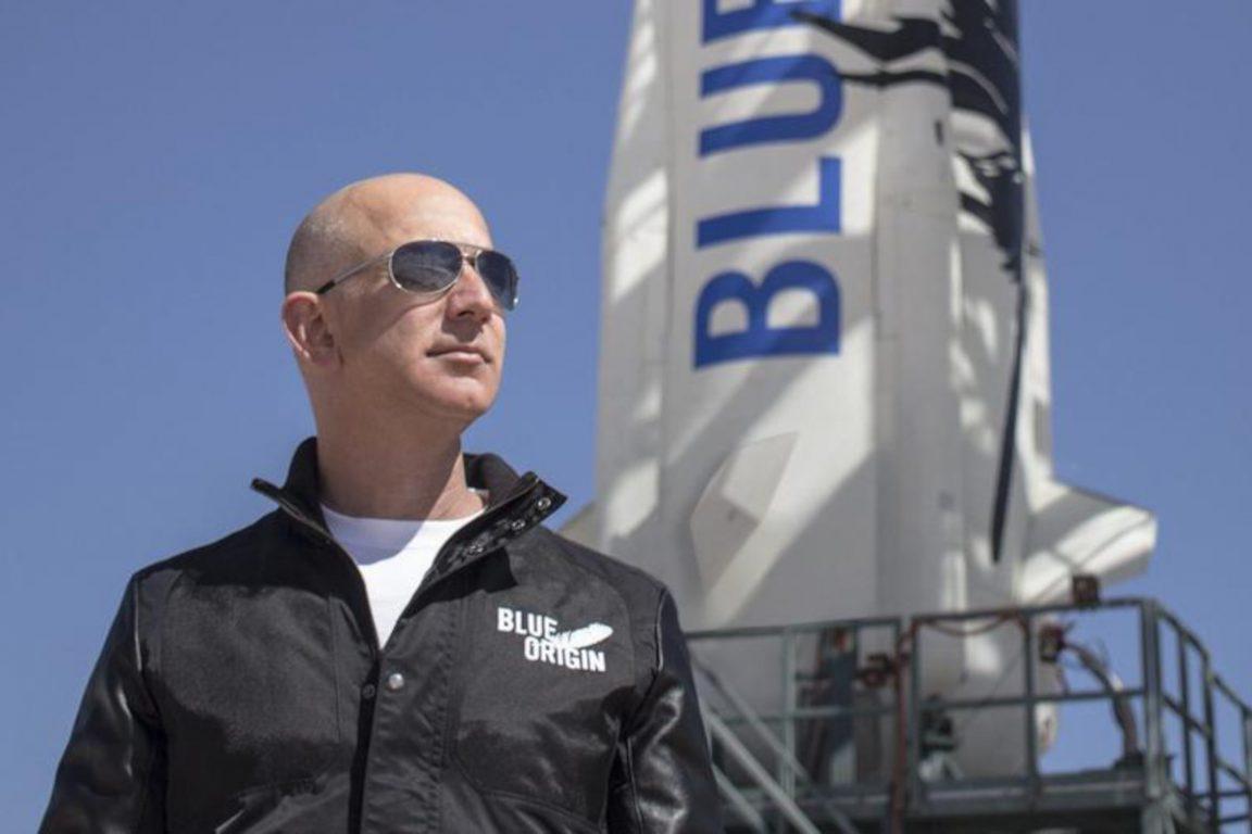 Jeff Bezos, lo que necesitas saber sobre el lanzamiento espacial de Blue Origin