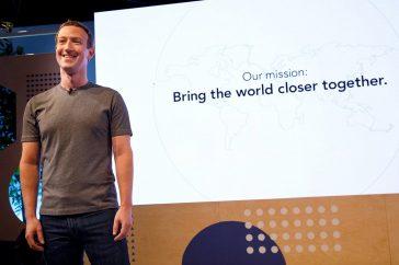 Activos de Zuckerberg suben igual que las acciones de Facebook
